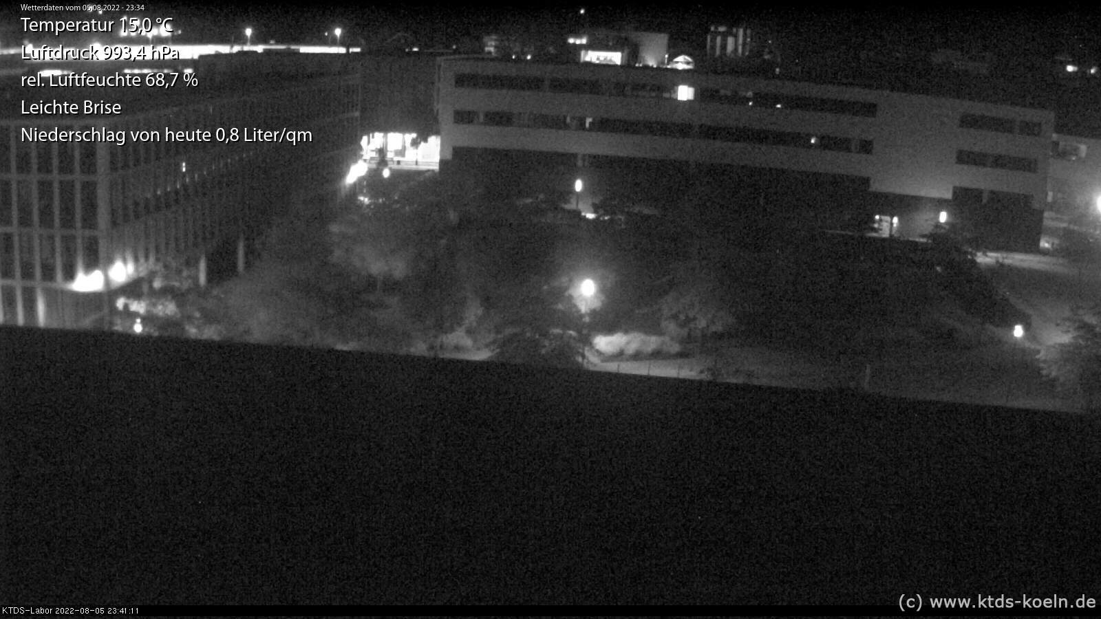 KTDS webcam at Gummersbach, Steinmüller area, 10 minutes ago